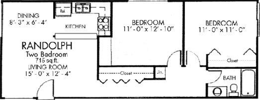 Sycamore Two bedroom