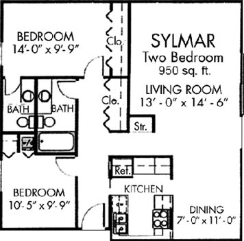 Willow Two bedroom
